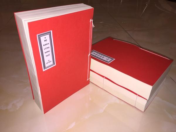 Mua Bộ 19 Cuốn Sách Cúng Cổ Cúng Vong Cúng Tổ Tiên - Chữ Nôm Song Ngữ Quốc Ngữ