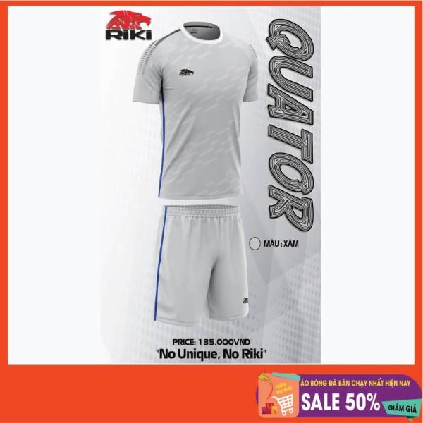 Bộ quầnáo thể thao, Bộ áo bóng đá không logo RiKi Quator sẵn kho, giá tốt chất vải mềm mát mịn, thấm hút mồ hôi.