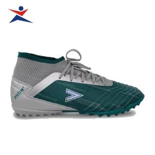 Giày đá bóng sân cỏ nhân tạo Mitre 181229 mẫu mới, cổ cao, êm chân,dành cho nam màu ghi đủ size thumbnail