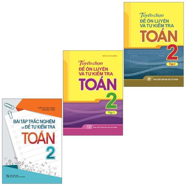 Mua Sách: Combo 3 Cuốn Lớp 2: Bài Tập Trắc Nghiệm Và Tự Kiểm Tra + Tuyển Chọn Toán Tập 1 + 2