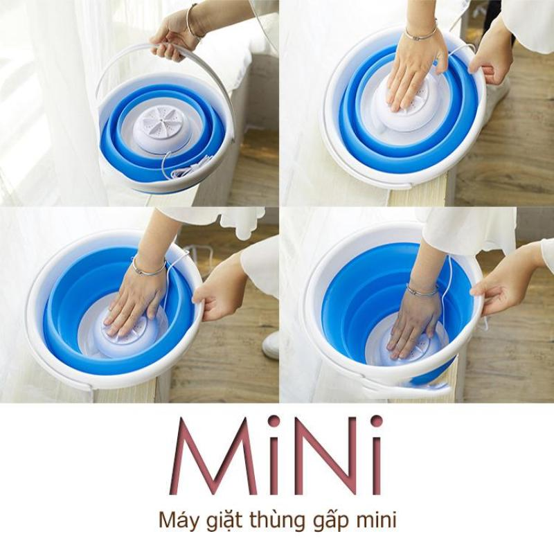 Bảng giá Thùng giặt máy giặt mini có thể gấp gọn tua bin xoáy tiếng ồn thấp máy giặt cỡ nhỏ mini Điện máy Pico