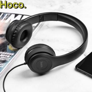 Tai Nghe chụp tai học onlie Chơi Game HOCO W21, Tai Nghe Chụp Tai Có Dây, Có Micro Và Xbox PS4, Máy tính ỗ trợ mic đàm thoại trên laptop, điện thoại có thể gập gọn tainghe Hoco thumbnail