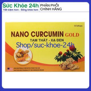 HSD 2023 - Viên tinh nghệ Nano Curcumin Gold Rostex Tam Thất Xạ Đen giảm viêm loét dạ dày, tá tràng, ung bướu - Hộp 30 viên chuẩn GMP Bộ Y tế thumbnail