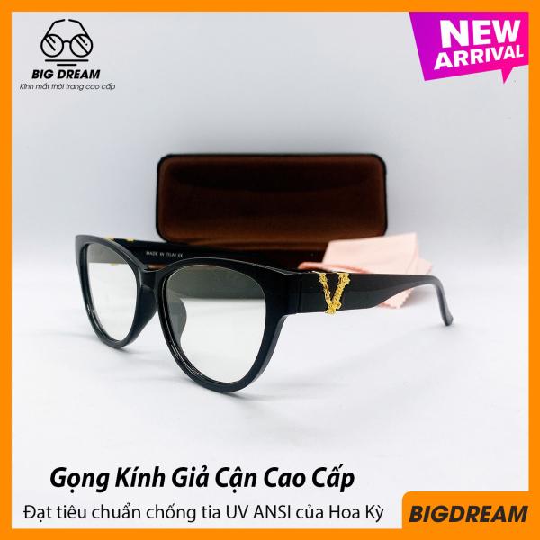 Giá bán Kính giả cận nam nữ gọng nhựa cao cấp - Mắt kính cận không độ siêu cute tròng kính chống tia UV BDVER3287 - Bảo hành 12 tháng 1 đổi 1 - Tặng kèm hộp + Khăn lau