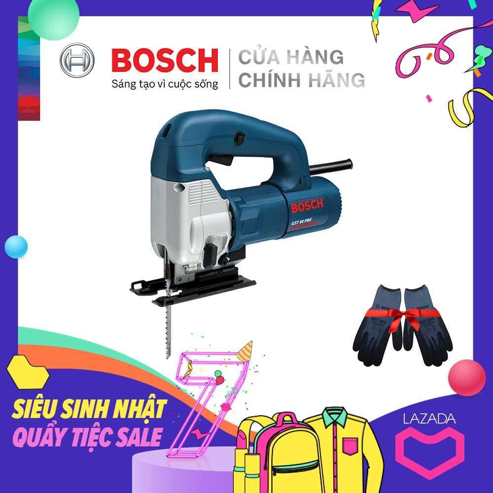 Máy cưa lọng Bosch GST 80 PBE - Tặng Găng tay bảo hộ Jogger Bosch