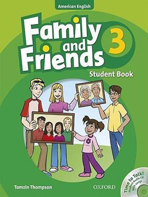 Sách Family & Friend 3( SB+WB+CD) - Sách Nhập Khẩu, Bản Gốc, Chất Lượng Giấy In Cao Cấp- Childrens Book