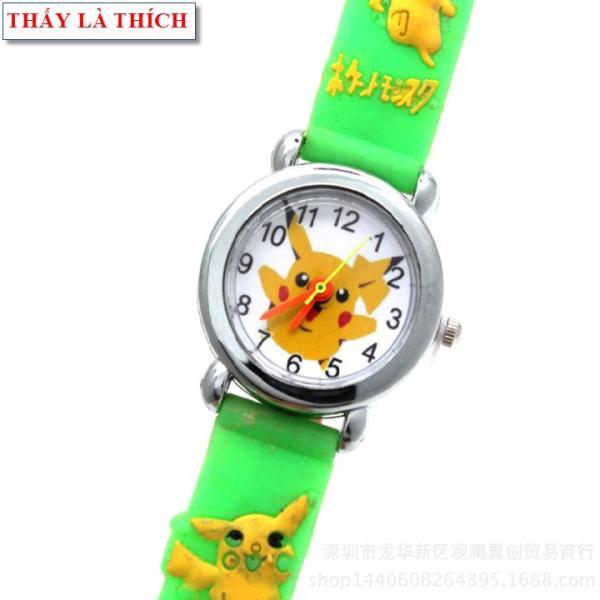 Nơi bán Đồng hồ bé gái Thấy Là Thích họa tiết 3d Pokemon - DH2019100012020039
