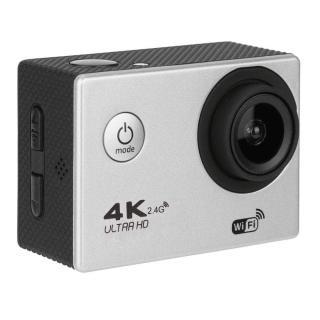 [Phặn Phặn] Máy Quay Thể Thao Camera Hành Động Camera Hành Trình F60R 4K Ultra Hd Ngoài Trời Chống Nước Điều Khiển Từ Xa - Màu Bạc thumbnail