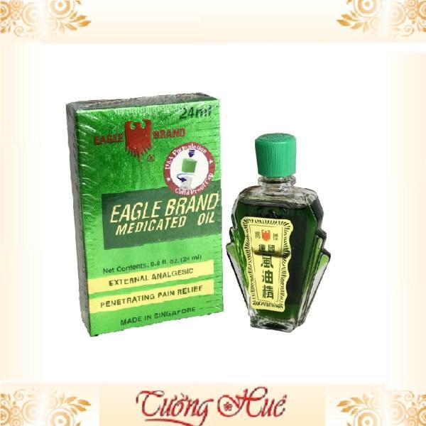 Dầu xanh Eagle Brand 2 nắp 24ml cao cấp