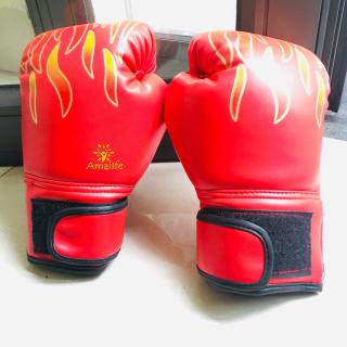 Găng Bao Tay Đấm Bốc Trẻ Em Amalife Găng Tay Boxing Cho Trẻ Em Từ 6 - 13 Tuổi thumbnail