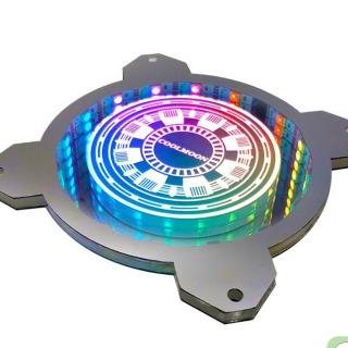 ỐP QUẠT RGB COOLMOON LÒ PHẲN ỨNG VÔ CỰC thumbnail