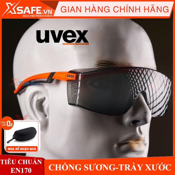 Kính bảo hộ Uvex 916-4246 mắt kính Super OTG đeo ngoài kính cận, chống trượt, chống chói, hơi sương, trầy xước vượt trội, ngăn chặn tia UV, dùng cho lao động, thể thao, đi xe máy, phòng dịch, chính hãng [XSAFE] [XTOOLS]