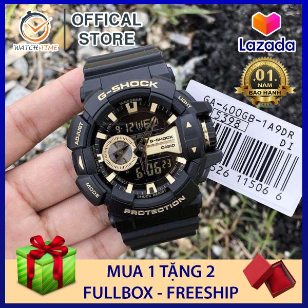 Đồng hồ Casio G-Shock Nam GA-400 Đen Đồng - Trang bị lớp chống từ đặt chuẩn ISO764 - Bảo hành 12 tháng bán chạy