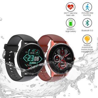 COD Đồng hồ thông minh DOOGEE CR1 Đồng hồ thông minh thể thao IP68 Chống nước theo dõi nhịp tim thời gian thực 12 chế độ thể thao thumbnail