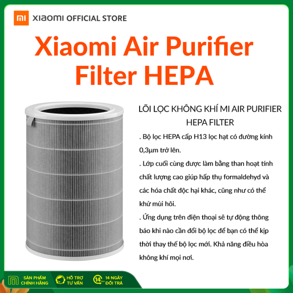[XIAOMI OFFICIAL] Lõi lọc không khí Xiaomi Air Purifier Filter HEPA class 13 (Lọc bụi mịn)