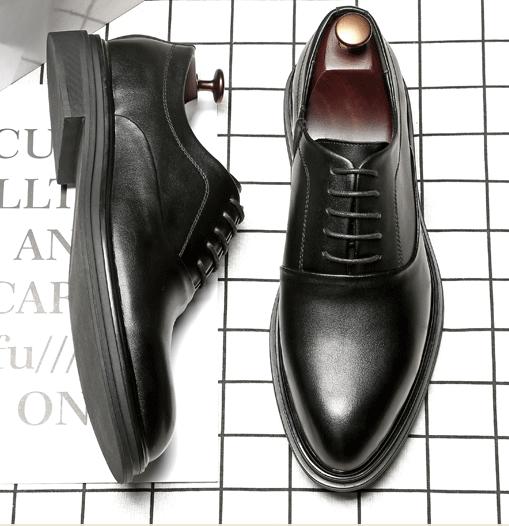 Giày Tây Oxford Socola đen - giày công sở nam