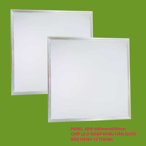 Bộ 2 đèn led Panel 48W  600 x 600mm