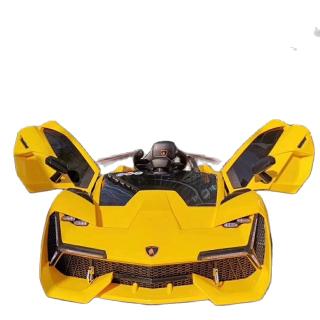 Ô tô điện trẻ em kiểu dáng siêu xe Lamborghini NEL-603 2 chế độ tự lái và điều khiển từ xa, 2 động cơ lớn, ắc quy 12v dung lượng lớn, cho bé từ 1-5 tuổi ( Vàng - Trắng - Đỏ) - Bảo hành 6 tháng toàn bộ xe thumbnail