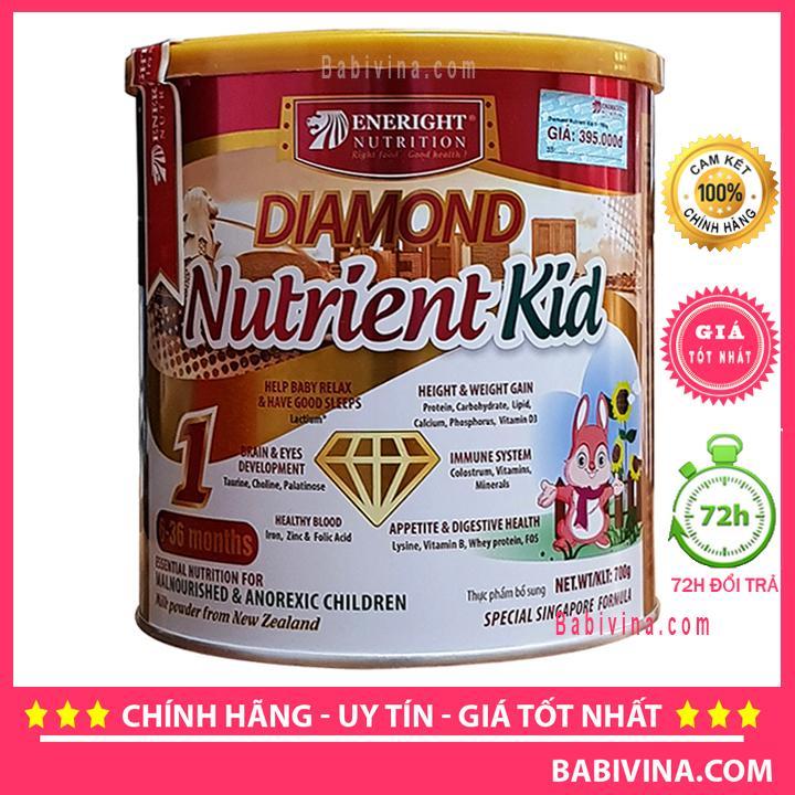 Sữa Bột Diamond Nutrient Kid 1 700g (Cho Trẻ Từ 6-36 Tháng Tuổi)