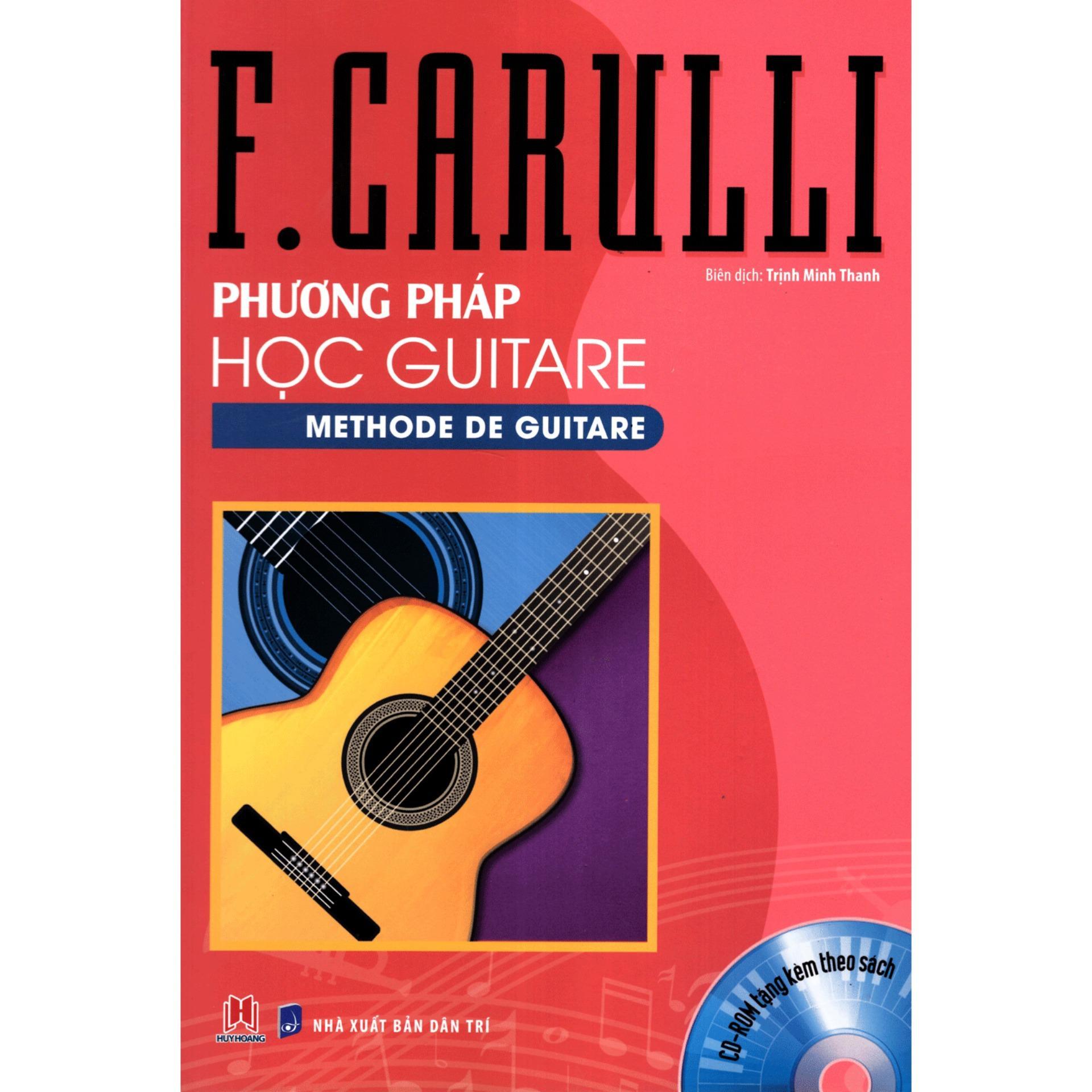 Mua PHƯƠNG PHÁP HỌC ĐÀN GUITAR F. CARULLI