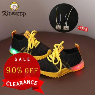 Kidsheep Giày trẻ em giày thể thao Giày sneaker nam cho bé trai giày nam cho bé giày thể thao có đèn led phát sáng cho bé trai và bé gái cho bé từ 1 đến 6 tuổi