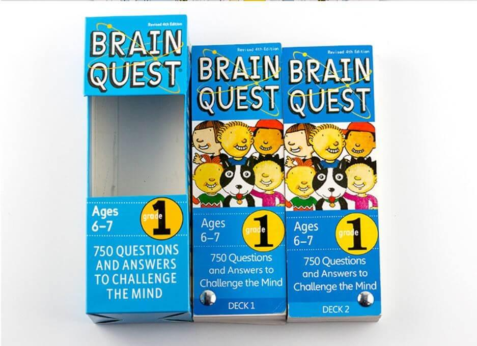 Mua Hộp thẻ Brain Quest 6+7 - BRAIN5