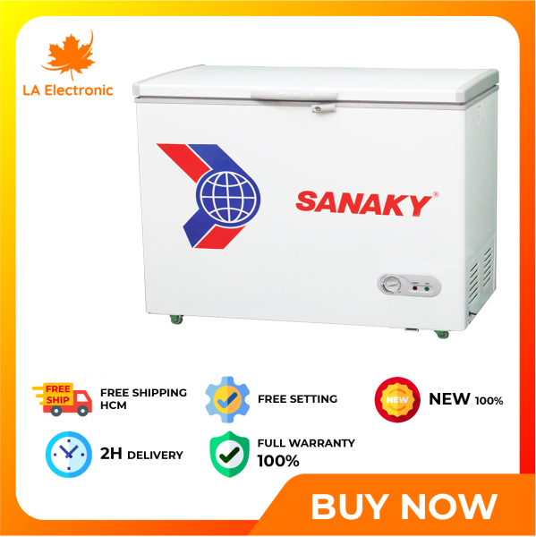 Trả Góp - Tủ đông Sanaky 208 lít VH-2599HY2 - Miễn phí vận chuyển HCM