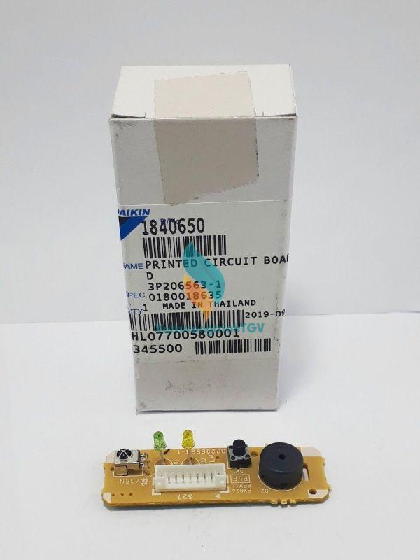 Vỉ mạch điện tử mắt nhận tín hiệu điều hòa DAIKIN mã 1840650