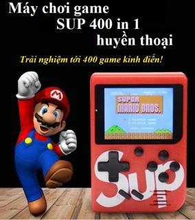 Máy chơi game - Máy chơi game SUP 400 in 1 - Máy chơi game cầm tay - Máy chơi game 4 nút thumbnail