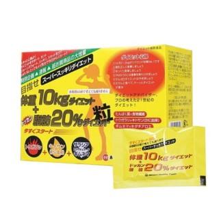 Viên uống giảm cân 10kg Minami Diet Nhật Bản thumbnail