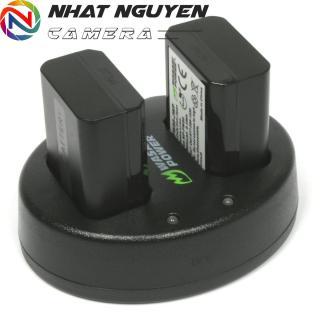 [HCM]Bộ 2 Pin và 1 Sạc Đôi Wasabi FW50 cho Sony thumbnail