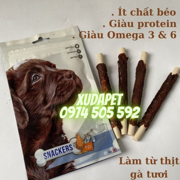 Xương Thưởng Snackers Cho Chó Vị Thịt Gà – Xudapet - SP000239