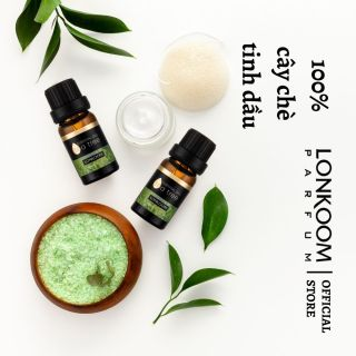 LONKOOM PARFUM Tinh dầu thiên nhiên 10ml cây chè Liệu pháp hương thơm làm tươi thumbnail