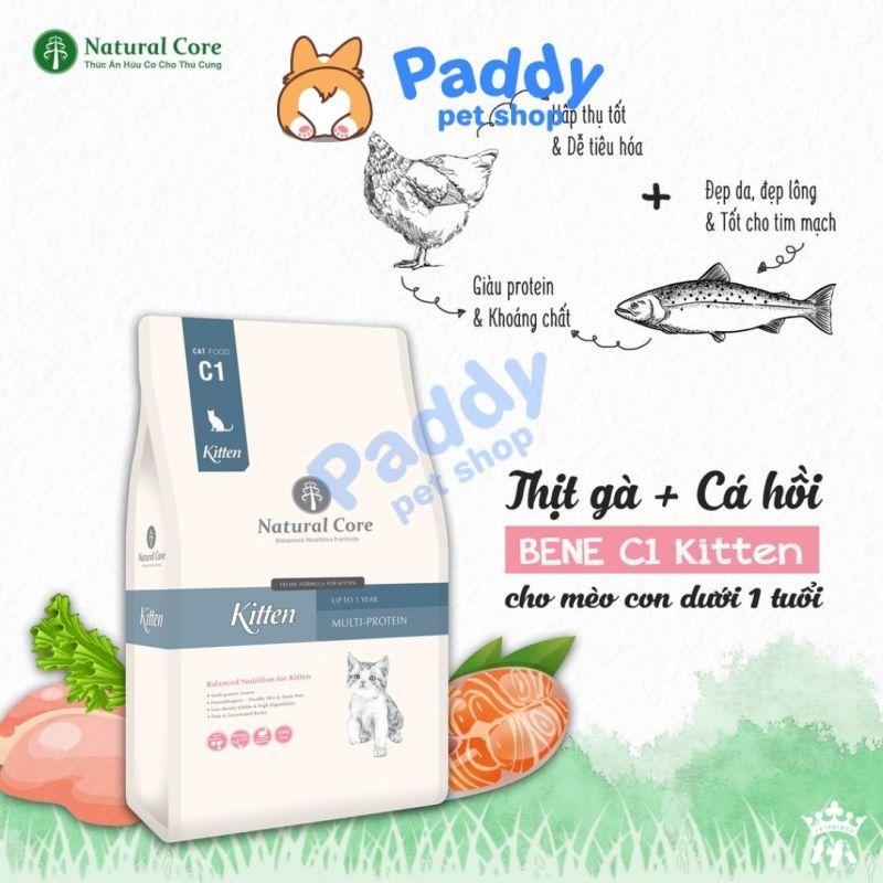 Hạt Hữu Cơ Natural Core Kitten Cho Mèo Con