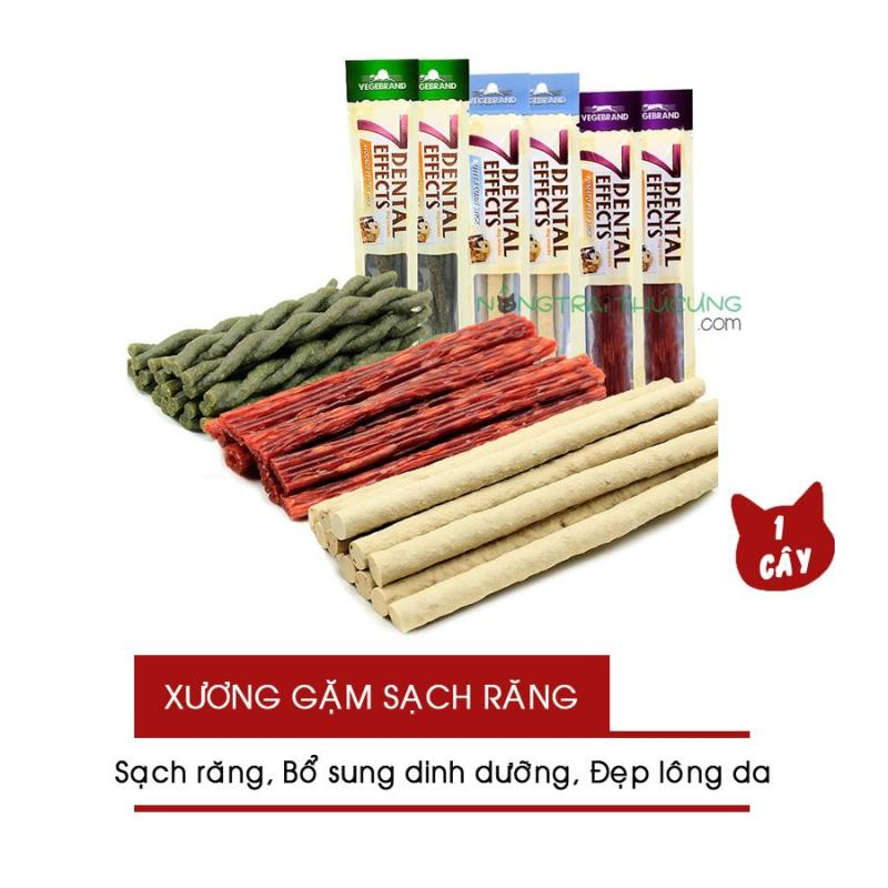 Xương Gặm Sạch Răng 7 Dental Effects - Bánh Thưởng Snack Cho Chó - [Nông Trại Thú Cưng]