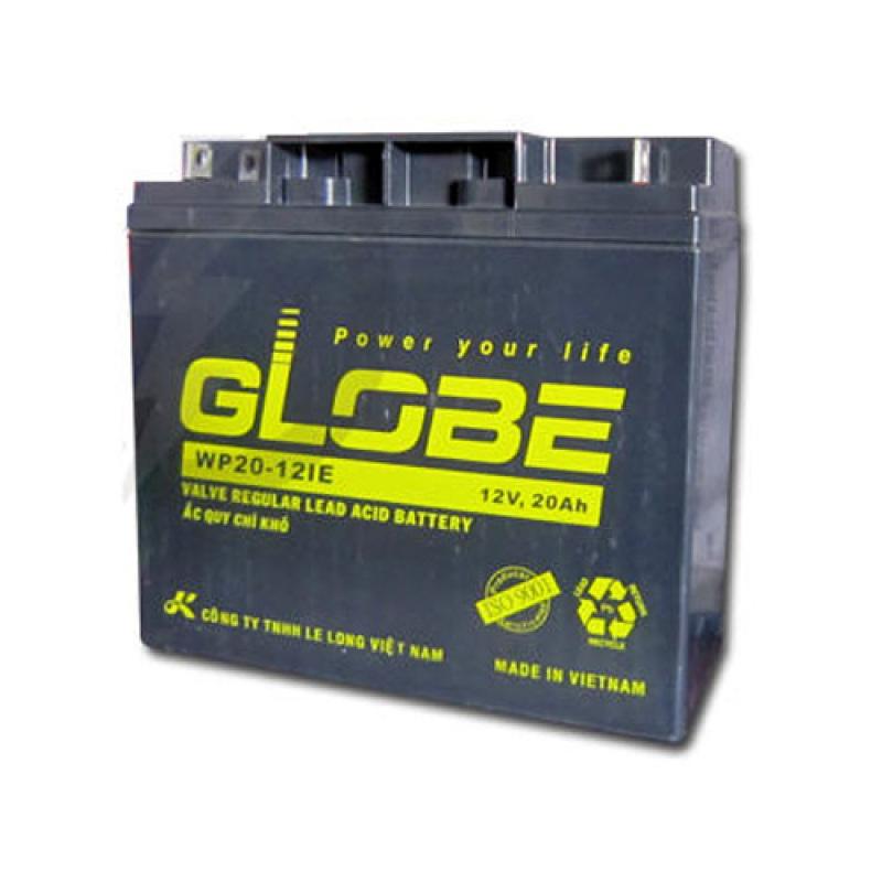 Bảng giá Ắc quy khô Globe 12V-20Ah - WP20-12IE Phong Vũ