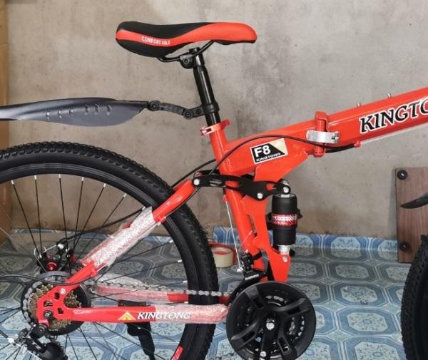 Phân phối Xe đạp thể thao gấp gọn HaHoo-Màu Cam