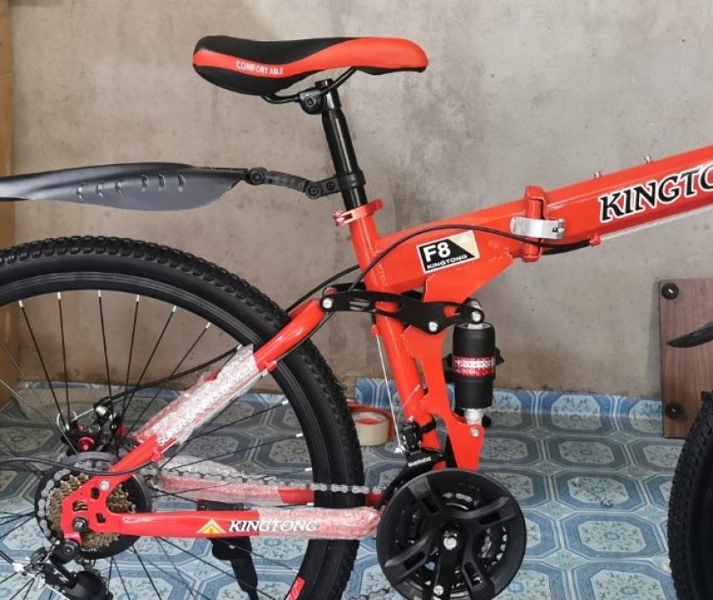 Phân phối Xe đạp thể thao địa hình gấp gọn HaHoo Màu cam