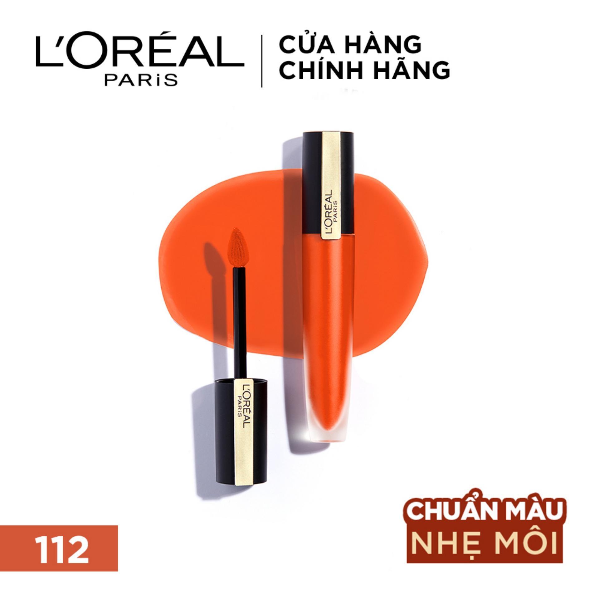 Son Tint Mịn Lì Cao Cấp L'Oréal Paris Rouge Signature 7ml Giá Cực Cool