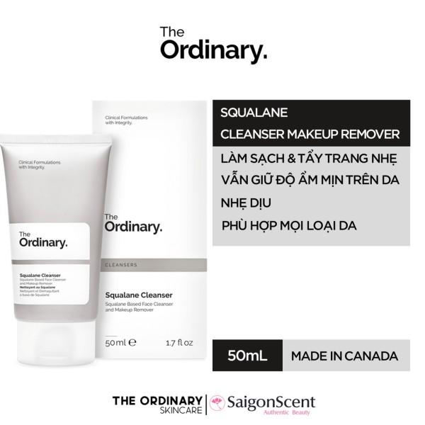 Sữa rửa mặt The Ordinary - Squalane Cleanser ( 50mL )