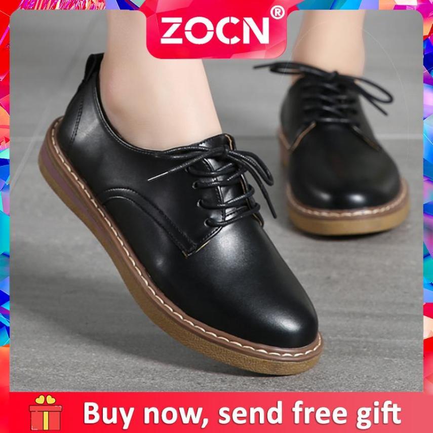 ZOCN nữ Buộc dây Giày Oxford Cổ Lớn Kích Thước Giày Nữ 34-41 giá rẻ