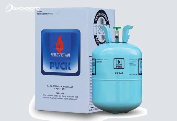 [GAS LẠNH ĐIỀU HÒA Ô TÔ] Gas lạnh cares R134a - 13,6kg