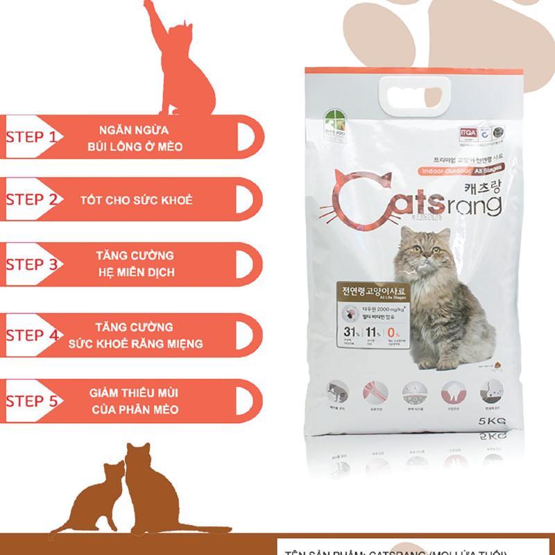 Catsrang cho mèo túi 5kg