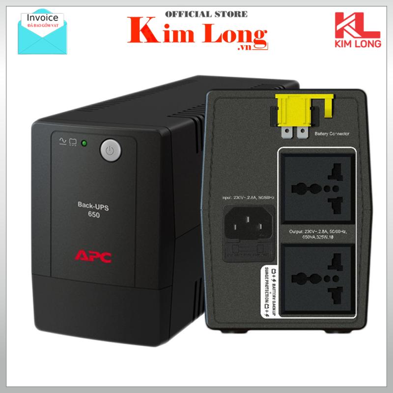 Bảng giá Bộ lưu điện UPS APC BX650LI-MS 650VA, 230V, AVR, Universal Sockets ( có bình ) - bảo hành 24 tháng chính hãng Phong Vũ