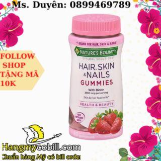 (có bill nhập)Kẹo hair skin nail gummies thumbnail