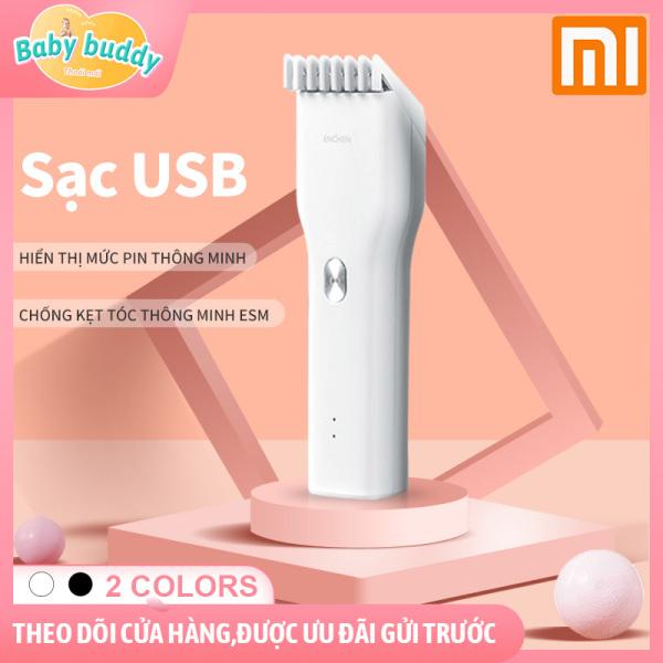 Tông đơ cho trẻ Xiaomi , tông đơ cắt tóc người lớn sạc nhanh trong 1h,  có thể chống kẹt tóc, tông đơ có thể vừa cắm điện vừa cắt.