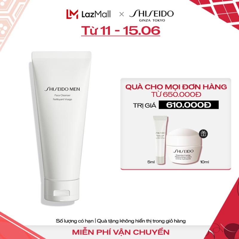 Sữa rửa mặt Shiseido Men Face Cleanser 125ml