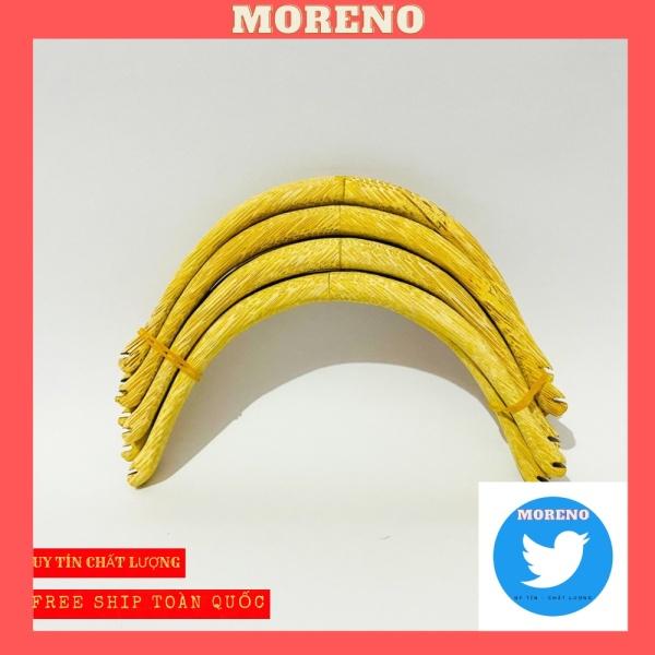 Cầu đậu góc MORENO dành cho chim chào mào, khuyên, mi chất liệu tre cao cấp giá rẻ dễ dàng lắp đặt (1 chiếc)