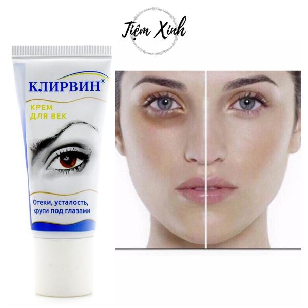 Kem trị thâm mắt Klirvin Nga 20g Kem trị quầng mắt, bọng mắt hiệu quả, chống lão hóa, tái tạo làn da, làm phục hồi độ căng và săn chắc da