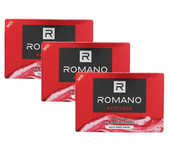Combo 3 Xà bông tắm Romano Attitude 90g*3 giá rẻ